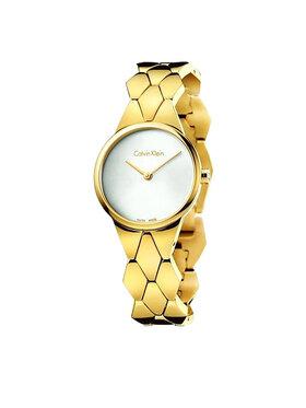 Calvin Klein Calvin Klein Zegarek Lady K6E23546 Złoty