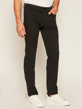 Trussardi Jeans Trussardi Jeans Bavlnené nohavice 52J00007 Čierna Slim Fit