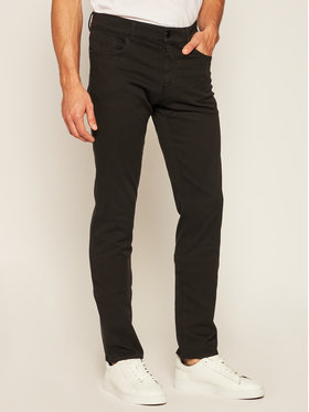 Trussardi Jeans Trussardi Jeans Kalhoty z materiálu 52J00007 Černá Slim Fit