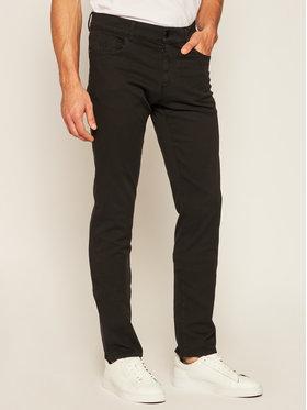 Trussardi Jeans Trussardi Jeans Spodnie materiałowe 52J00007 Czarny Slim Fit