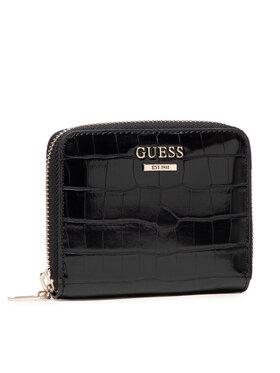 Guess Guess Малък дамски портфейл SWCG78 70370 Черен
