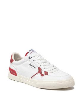Pepe Jeans Pepe Jeans Sneakersy Kenton Britt PMS30763 Biela