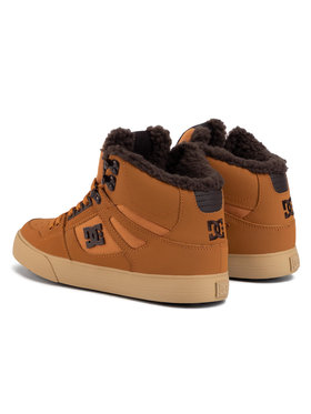 DC Sneakersy Pure High-Top Wc Wnt DYS400047 Hnedá