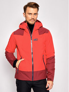 Millet Millet Geacă de schi Roldal MIV8935 Roșu Regular Fit