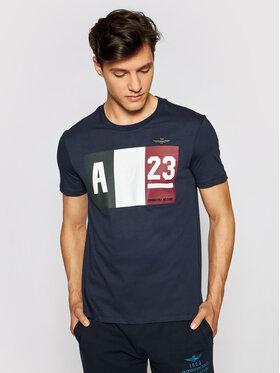 Aeronautica Militare Aeronautica Militare T-Shirt 211TS1866J492 Dunkelblau Regular Fit