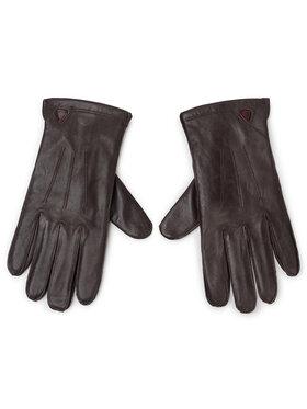 Strellson Strellson Pánské rukavice 3903 Hnědá