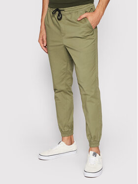 Jack&Jones Jack&Jones Kalhoty z materiálu Gordon 12182546 Zelená Regular Fit