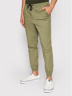 Jack&Jones Jack&Jones Текстилни панталони Gordon 12182546 Зелен Regular Fit