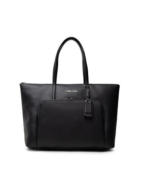 Calvin Klein Calvin Klein Handtasche Ck Must Shopper Lg W/Pocket K60K608622 Schwarz