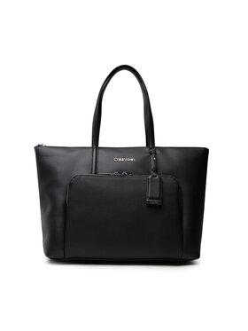 Calvin Klein Calvin Klein Kabelka Ck Must Shopper Lg W/Pocket K60K608622 Černá