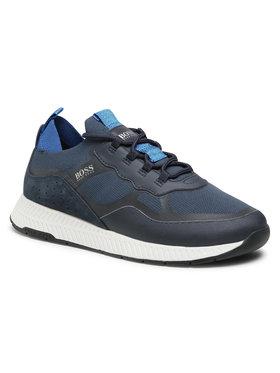 Boss Boss Sneakersy Titanium 50452043 10232616 01 Tmavomodrá