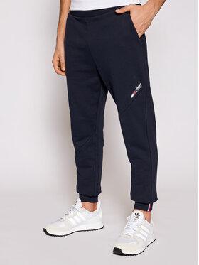 Tommy Hilfiger Tommy Hilfiger Παντελόνι φόρμας Terry Logo MW0MW18462 Σκούρο μπλε Regular Fit
