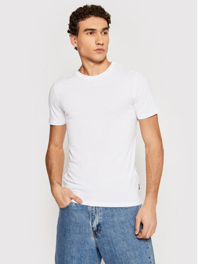 Only & Sons ONLY & SONS T-shirt Basic 22020798 Bianco Slim Fit
