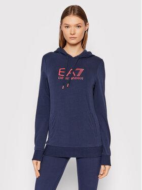 EA7 Emporio Armani EA7 Emporio Armani Sweatshirt 8NTM36 TJCQZ 0551 Dunkelblau Slim Fit