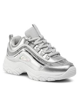 Fila Fila Sneakersy Strada A Wmn 1010893.80M Strieborná