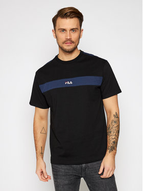 Fila Fila T-Shirt Ward 687924 Černá Regular Fit