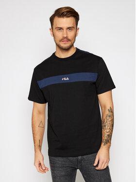 Fila Fila T-Shirt Ward 687924 Μαύρο Regular Fit