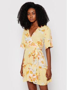 Billabong Billabong Letní šaty One and Only W3DR39 BIP1 Žlutá Flared Fit