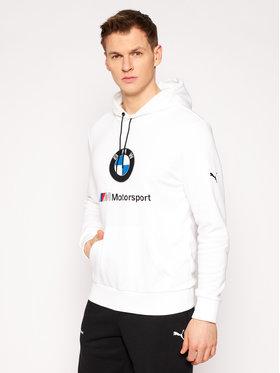 Puma Puma Sweatshirt BMW Motorsport Logo 599533 Blanc Regular Fit
