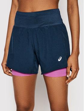 Asics Asics Pantaloncini sportivi Road 2-N-1 5.5In 2012A771 Blu scuro Regular Fit