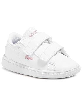 Lacoste Lacoste Sneakersy Carnaby Evo 0921 1 Sui 7-41SUI00021Y9 Bílá