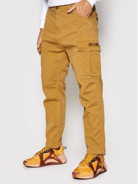 Alpha Industries Alpha Industries Текстилни панталони Squad 188202 Кафяв Regular Fit