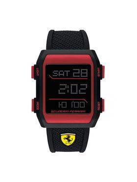 Scuderia Ferrari Scuderia Ferrari Hodinky Downforce 0830739 Čierna