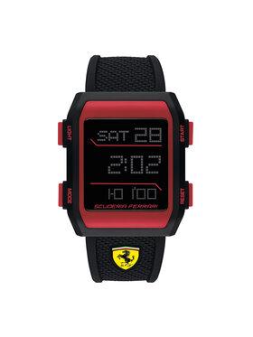 Scuderia Ferrari Scuderia Ferrari Zegarek Downforce 0830739 Czarny