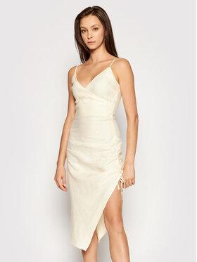 NA-KD NA-KD Sukienka letnia 1018-006817-0140-581 Beżowy Slim Fit