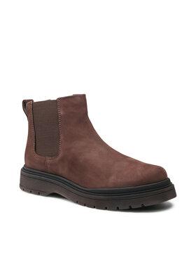 Badura Badura Členková obuv s elastickým prvkom MI08-C877-876-05 Hnedá