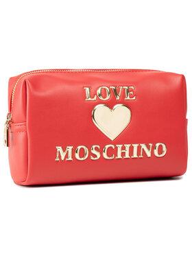 LOVE MOSCHINO LOVE MOSCHINO Kosmetyczka JC5307PP1CLF0500 Czerwony