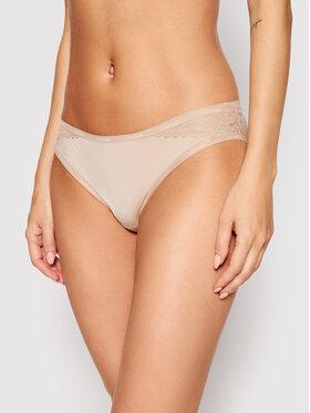 Calvin Klein Underwear Calvin Klein Underwear Класически дамски бикини 000QF5153E Бежов