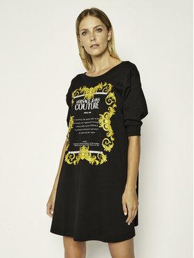 Versace Jeans Couture Versace Jeans Couture Každodenní šaty D2HZA4TB Černá Regular Fit
