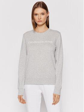 Calvin Klein Jeans Calvin Klein Jeans Majica dugih rukava J20J209761 Siva Regular Fit
