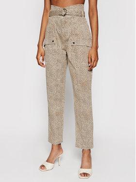 Guess Guess Pantaloni di tessuto Joy W1GB05 W5DX2 Beige Relaxed Fit