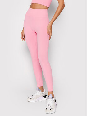 Guess Guess Legginsy Alma O1BA15 ZZ04S Różowy Slim Fit