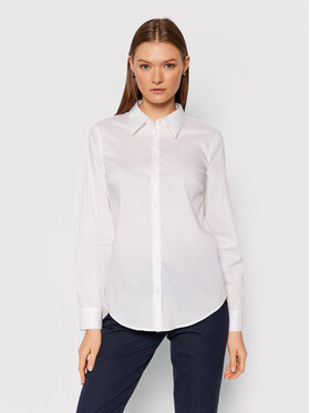United Colors Of Benetton United Colors Of Benetton Chemise 5AWR5QCK5 Blanc Regular Fit