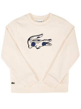 Lacoste Lacoste Bluza SJ4982 Beżowy Regular Fit