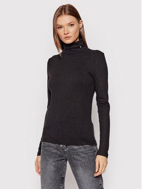 Calvin Klein Jeans Calvin Klein Jeans Rollkragenpullover J20J215150 Schwarz Slim Fit