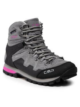 CMP CMP Παπούτσια πεζοπορίας Athunis Mid Wmn Trekking Shoe Wp 31Q4976 Γκρι