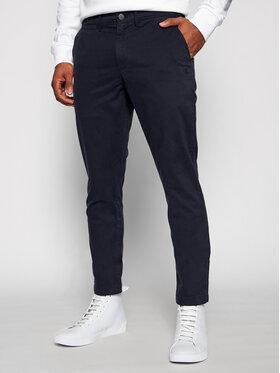Calvin Klein Jeans Calvin Klein Jeans Kalhoty z materiálu J30J318323 Tmavomodrá Slim Fit