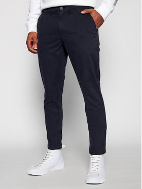 Calvin Klein Jeans Calvin Klein Jeans Szövet nadrág J30J318323 Sötétkék Slim Fit