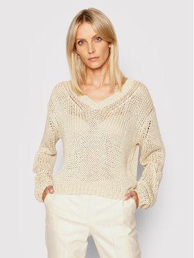 Marc O'Polo Marc O'Polo Sweter 104 6182 60201 Beżowy Regular Fit