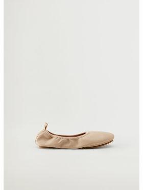 Mango Mango Balerina Ballet 17010156 Bézs