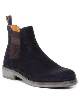 Gant Gant Členková obuv s elastickým prvkom Brookly 21653010 Tmavomodrá