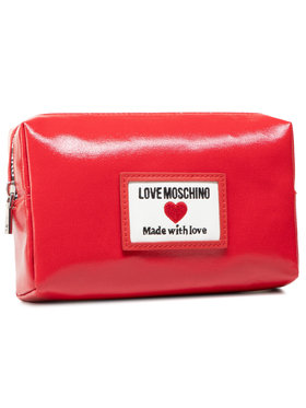 LOVE MOSCHINO LOVE MOSCHINO Kosmetyczka JC5305PP1CLC150A Czerwony