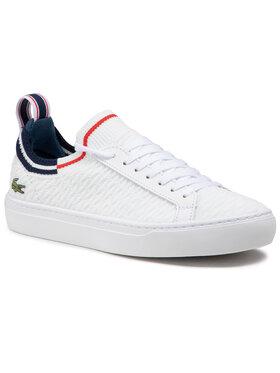 Lacoste Lacoste Πάνινα παπούτσια La Piquee 0721 1 Cma 7-41CMA0033407 Λευκό