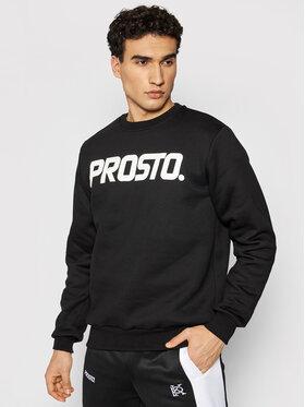 PROSTO. PROSTO. Sweatshirt KLASYK Fense 1031 Schwarz Regular Fit