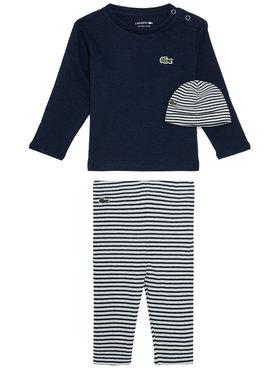 Lacoste Lacoste Pijama 4J1346 Bleumarin