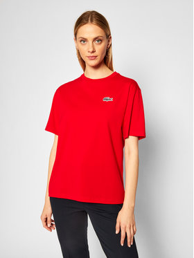 Lacoste Lacoste T-shirt TF5902 Rouge Regular Fit